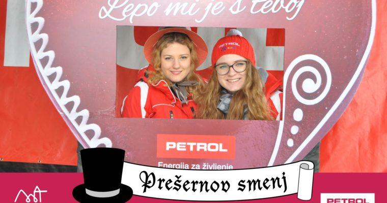 Petrol in Prešernov smenj 2018