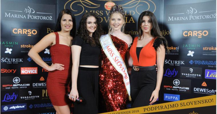 Polfinale Miss Slovenije 2018